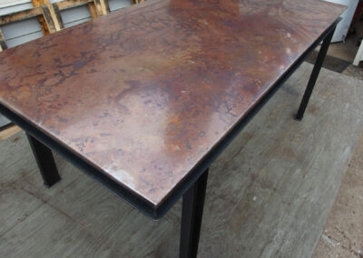 Volcanic Stainless Dining Table