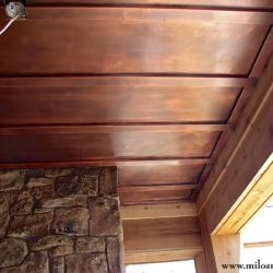 Copper Ceiling Panels