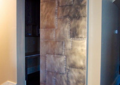 Aluminum Pantry Door