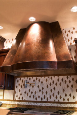 Volcanic Stainless Hood
