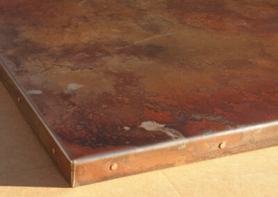 Volcanic Stainless Top