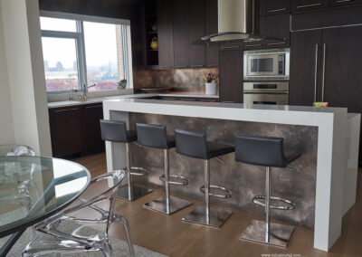Volcanic Stainless panels
