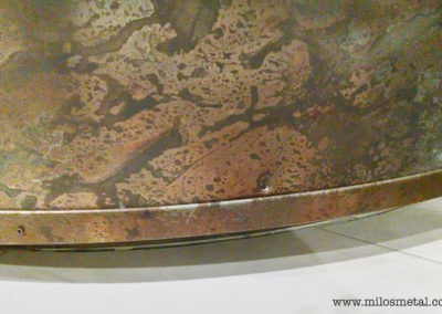 Volcanic Stainless Reception Desk