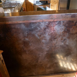 Volcanic Stainless Panel