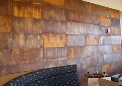 Rust Patina Wall Panels