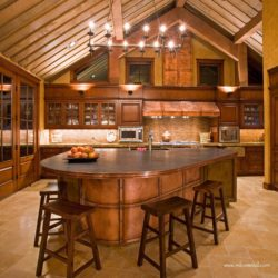 Copper Kitchen Hood