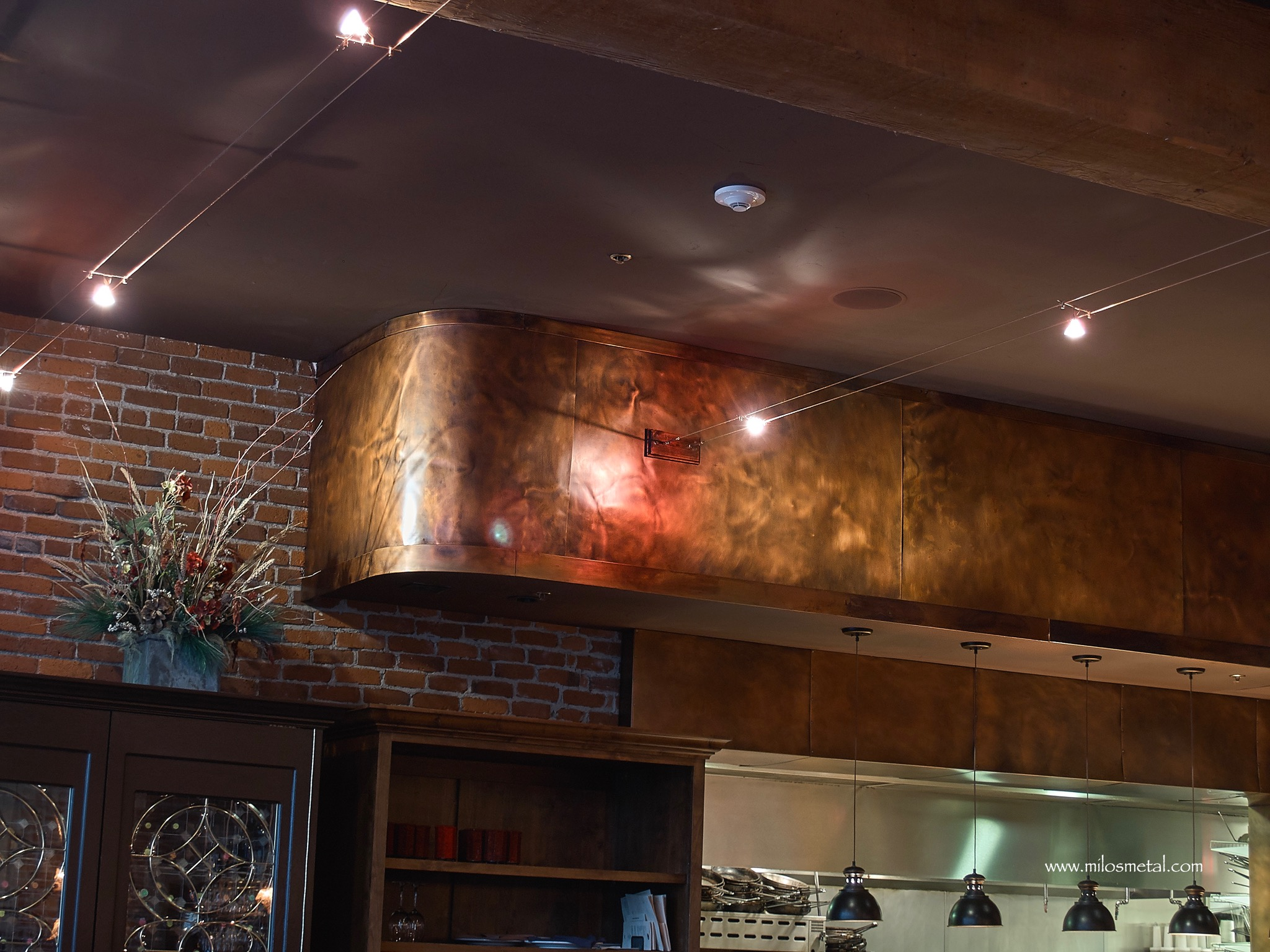 Other works milos art metal copper panels restaurant dailygadgetfo Image collections