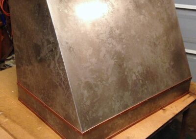 Los Angeles volcanic stainless steel kitchen hood