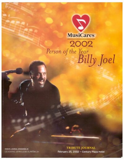 Billy Joel tribute journal