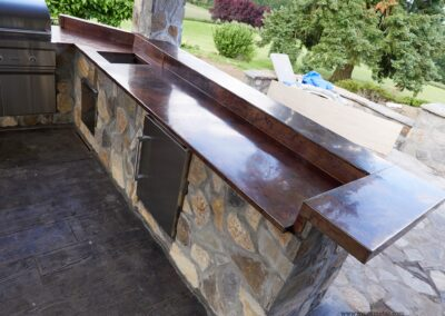 Volcanic Stainless Steel tops