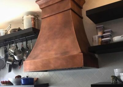 Copper Kitchen Hoods